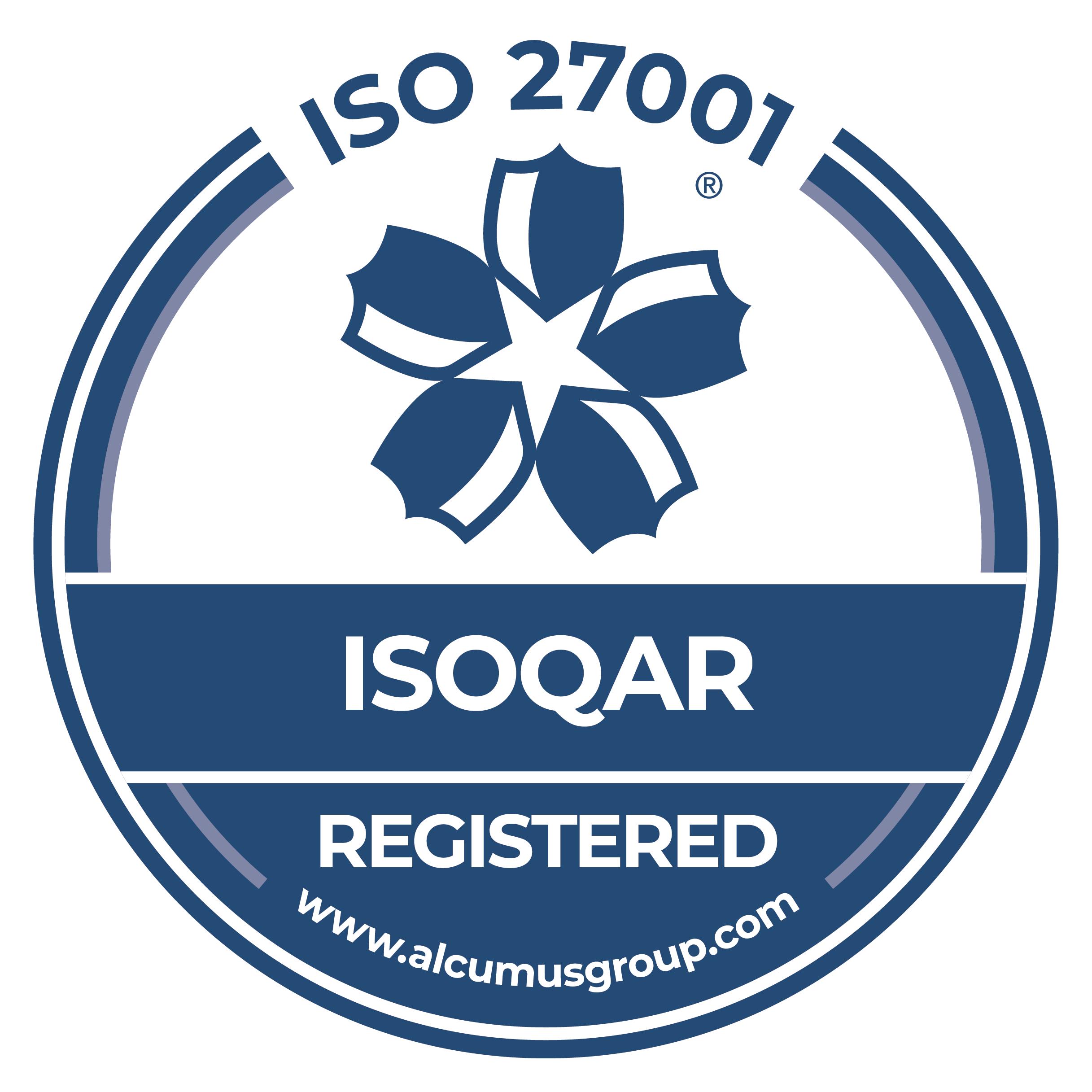 Seal-Colour-Alcumus-ISOQAR-27001